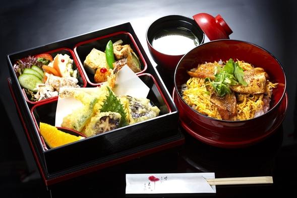 (夕食・部屋食)のどぐろめしの松花堂弁当付プラン