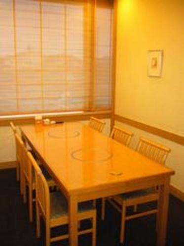 テーブル小部屋