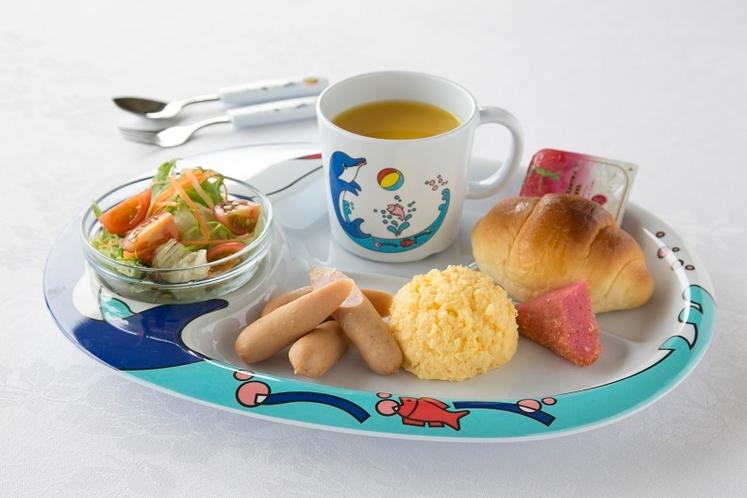 朝食 お子様プレート