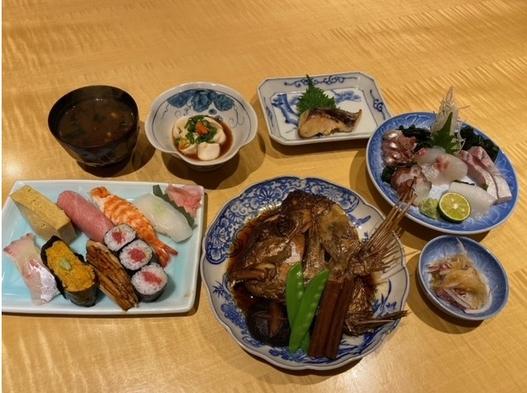 近隣の人気店「柳鮨」で本格江戸前寿司と新鮮な魚介を堪能出来る夕食付期間限定プラン