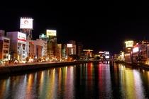 中洲の夜景(イメージ)