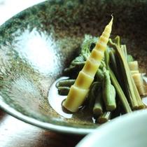 朝食_山菜