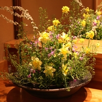 【館内の生け花】