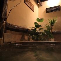 【乙女の湯】館内4つの貸切風呂は全て宿泊者無料です