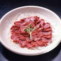 馬刺し(料理一例)