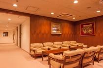 客室階にある寛ぎスペース