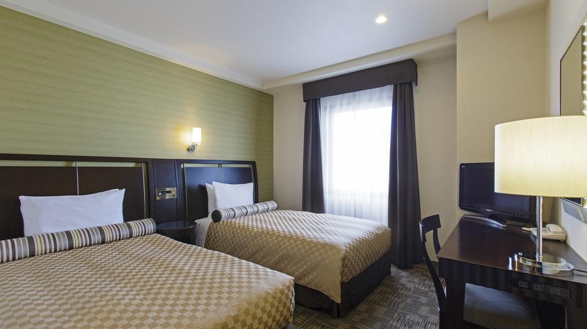 スタンダードツイン 19.5平米 ベッド幅110cm(2台)