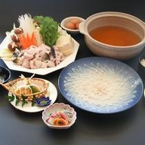 ふぐ料理(一例)