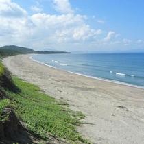 日本三大砂丘のひとつ、吹上砂丘が目の前!
