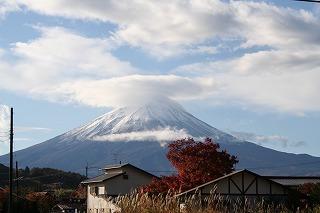 富士山(ペンション前より)