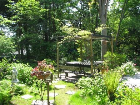 ■お庭の風景