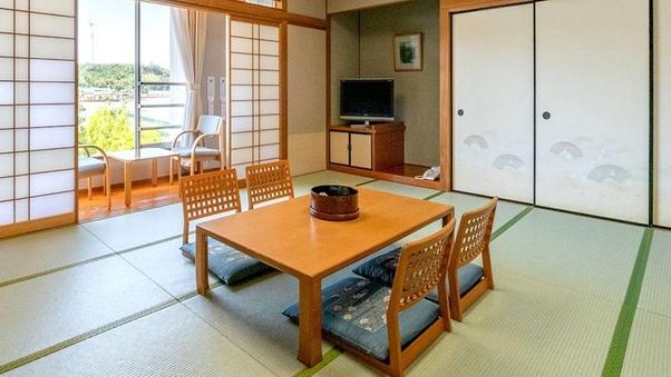 【禁煙】北潟湖を望む和室15畳