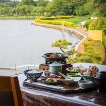 湖畔ビュー☆お食事イメージ