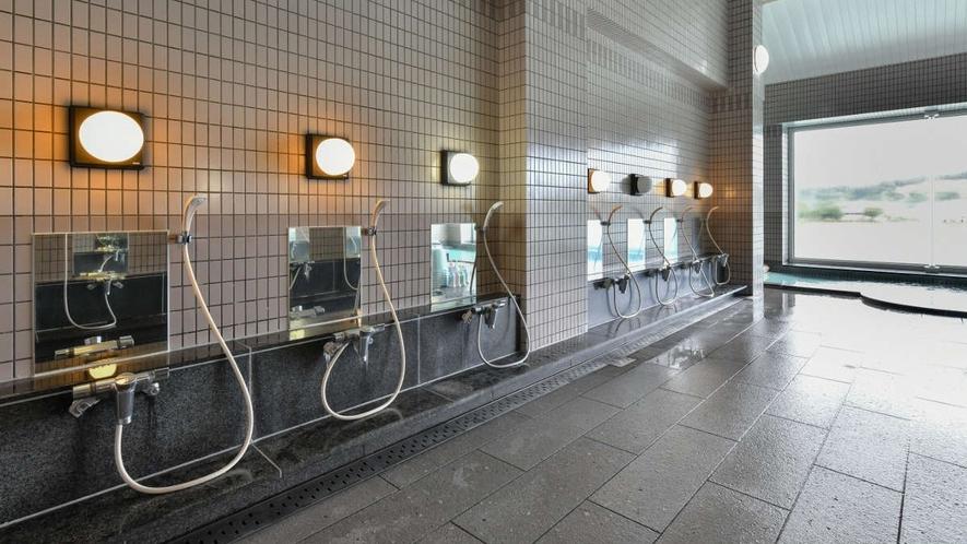 ●大浴場 洗い場