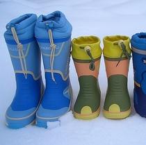 寒冷地仕様の長靴レンタルあり