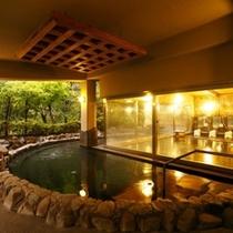 ◆季楽里龍神 大浴場 露天風呂