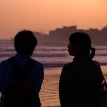 沈む夕日を見ながらゆっくりと語り合える穏やかな時間を☆