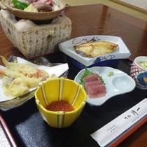 *夕食一例/新鮮な海の幸に舌鼓