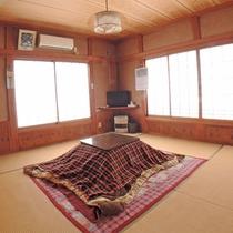 【和室8畳/一例】一番人気!の和室はカップルさんからファミリーまで幅広いお客様に喜ばれています。