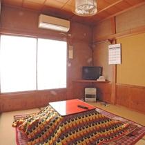 【和室4.5畳/一例】お一人様専用の和室。お篭り旅にもおすすめです