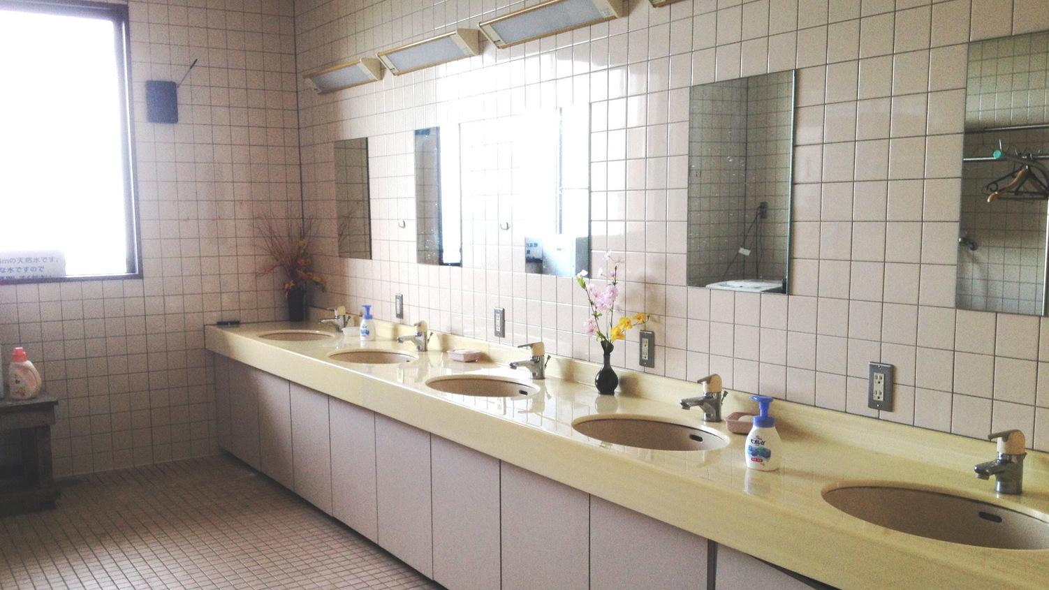 *館内一例:洗面コーナー
