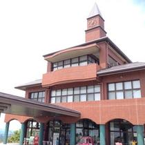 *当館は標高868m、速日の峰の頂上にあるレジャー施設です