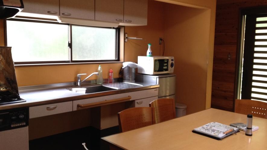 *【二階建てコテージ】キッチン完備!材料を持ち込んで自炊が楽しめます