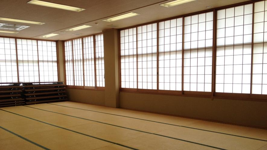 *【大広間】コミュニティセンター(宿泊施設棟)の2階が客室です