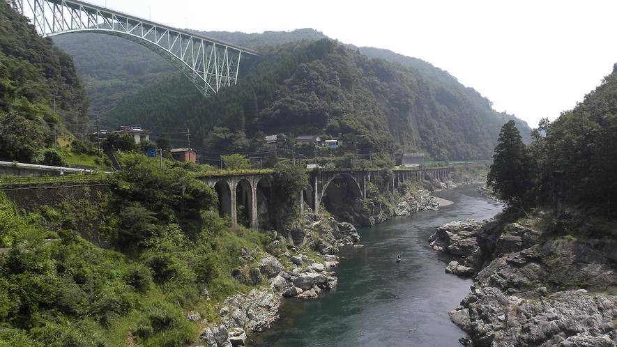 *周辺観光:綱ノ瀬橋梁