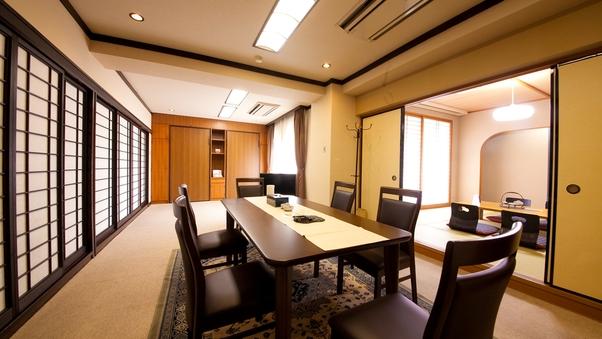 【レディーススウィート】3室+リビングを備えたグループ客室♪