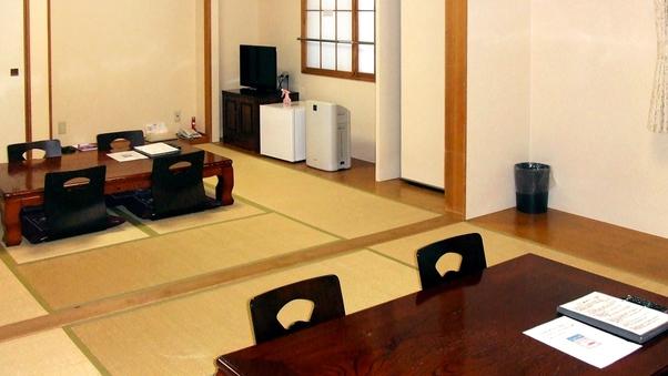 【禁煙】和室16畳(8人部屋)