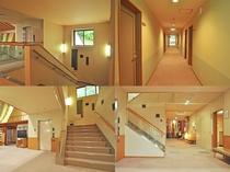 【館内】客室まではエレベーターも完備!すぐ横には階段もございます。