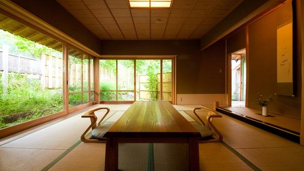 風の稲・露天付離れ「大山」(10畳+ベッドルーム+談話室)