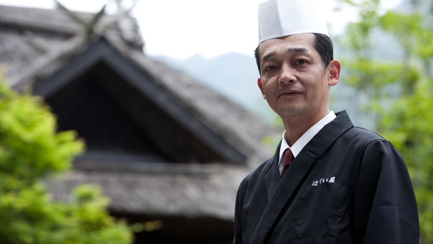和食一筋30年の料理長