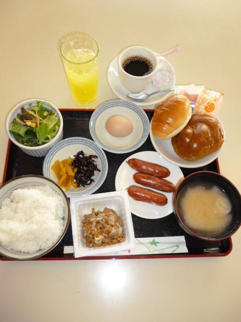 朝食(和・洋)立て