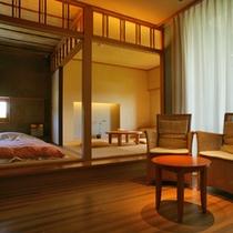 ひのき風呂付和室「草枕」