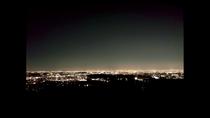 展望室から見える夜景