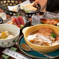 *夕食(一例)/お腹はもちろんのこと、心も満腹・満足していただけます!