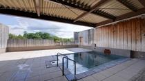 *温泉(露天風呂)/解放感抜群の露天風呂からは、「羊蹄山」を眺める事が出来ます。