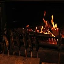 ウィンターシーズンには暖炉でぽかぽか暖かい♪