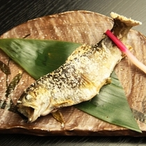 夕食_岩魚