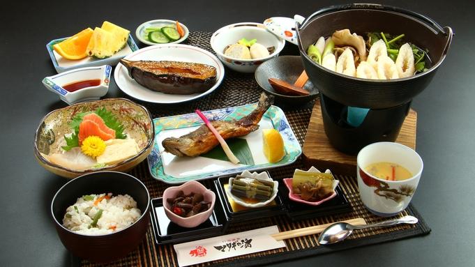 決め手は比内地鶏のうま〜い出汁スープ☆秋田の定番、「きりたんぽ」で郷土の味覚を堪能《2食付》