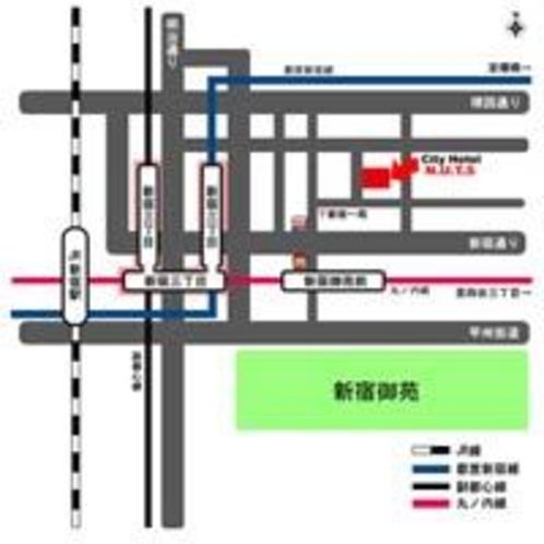 モバイル版地図