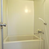 【風呂】共同風呂は家庭用サイズで24時間入浴可!(温泉ではありません)