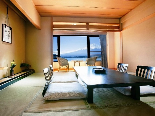 スタンダードプラン【富士山眺望の和室】と和食会席料理