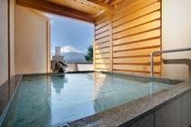 和室12畳土間バルコニー露天風呂