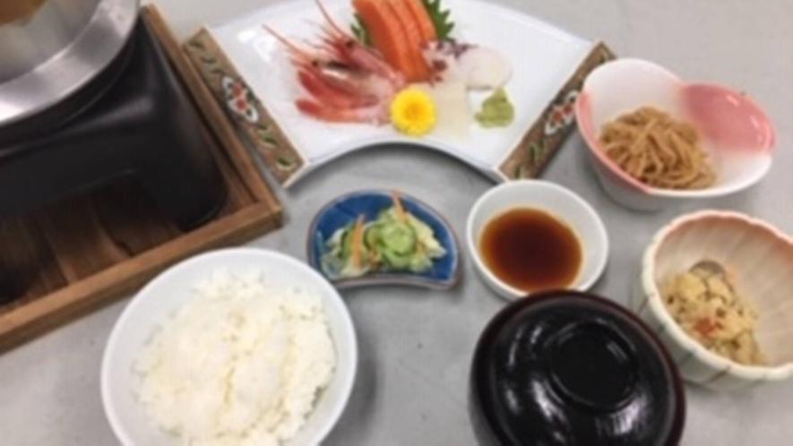 *選べる定食プラン/刺身定食