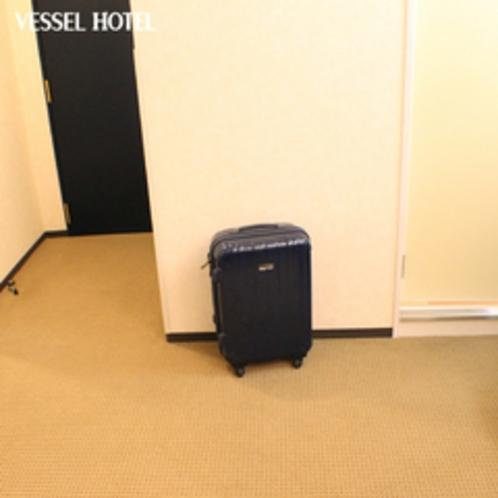 広々スペースで、荷物も楽々おけます★