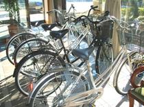 自転車(レンタル無料)