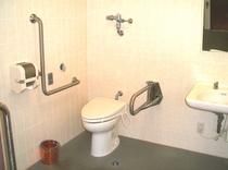 バリアフリー対応トイレ(1F)